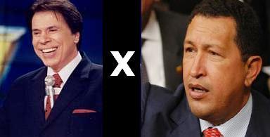 Silvio Santos X HugoChávez