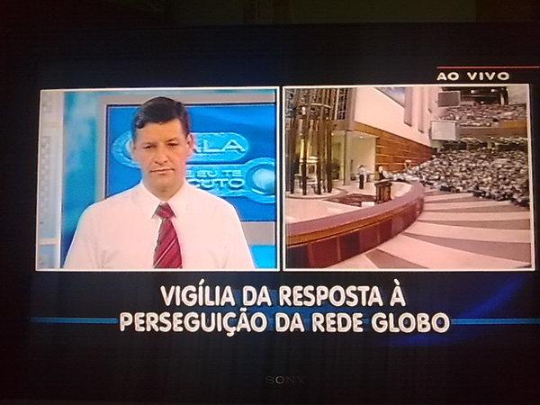 Nessa madrugada, a Universal promoveu boicote à Rede Globo